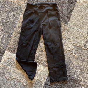 Athleta, Black Capri Yoga Pants, Small